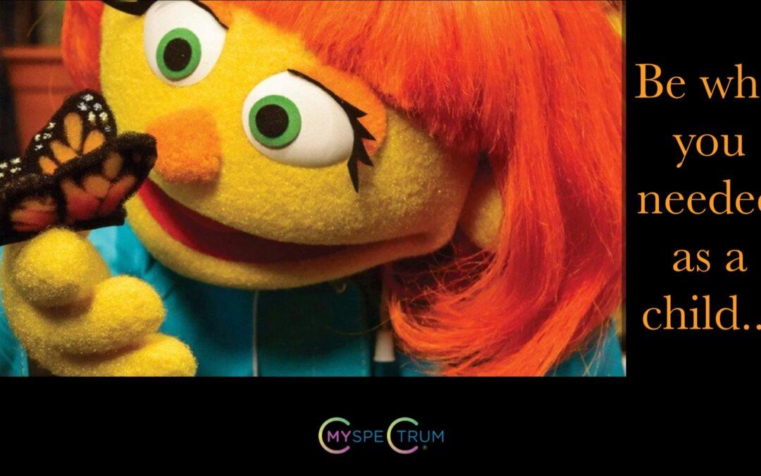 Julia On Sesame Street: Showcasing Autism in a Positive Light